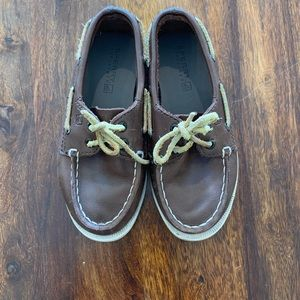 Boys - Sperry Leather Topsiders - Size 10.5